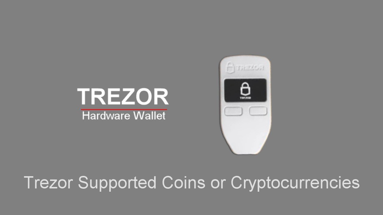 trezor supported coins