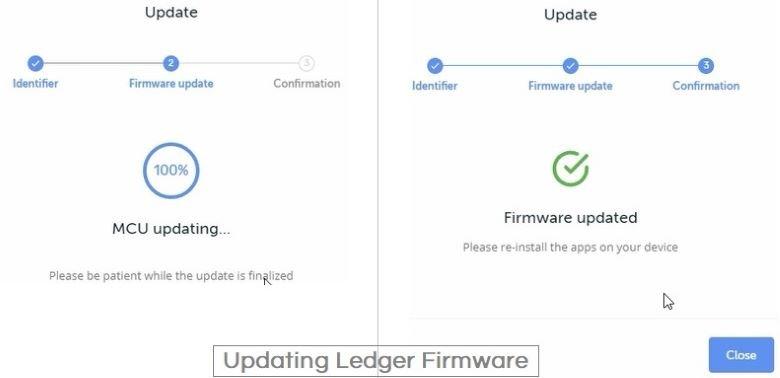 update Ledger Nano S firmware MCU